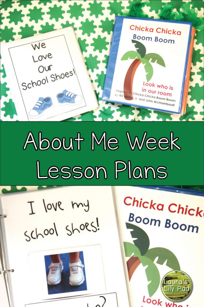 About Me Theme Class Books in PreK
