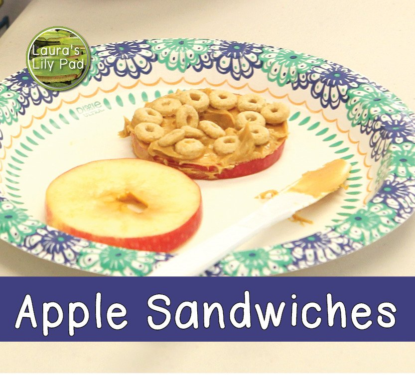 Cooking Camp Apple Sandwiches