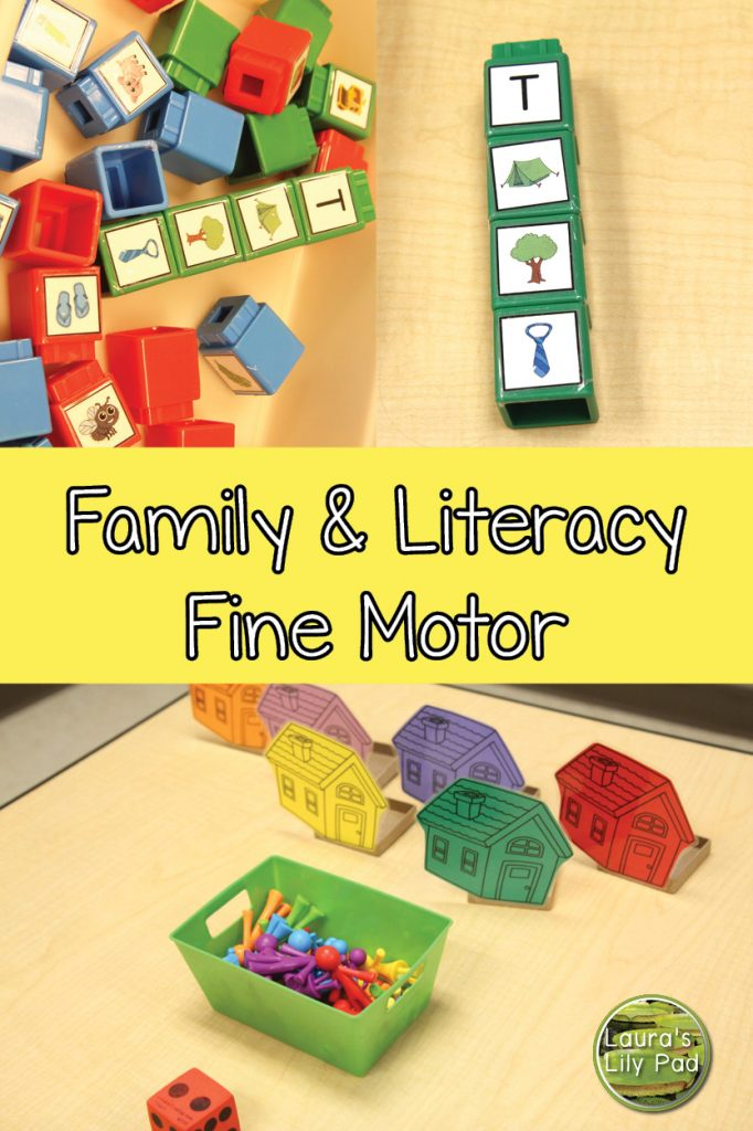 Family literacy fine motor