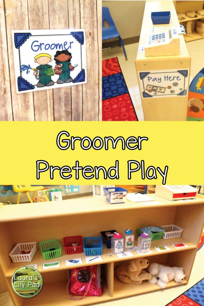 Groomer pretend play