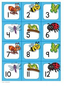 Insect Calendar Cards