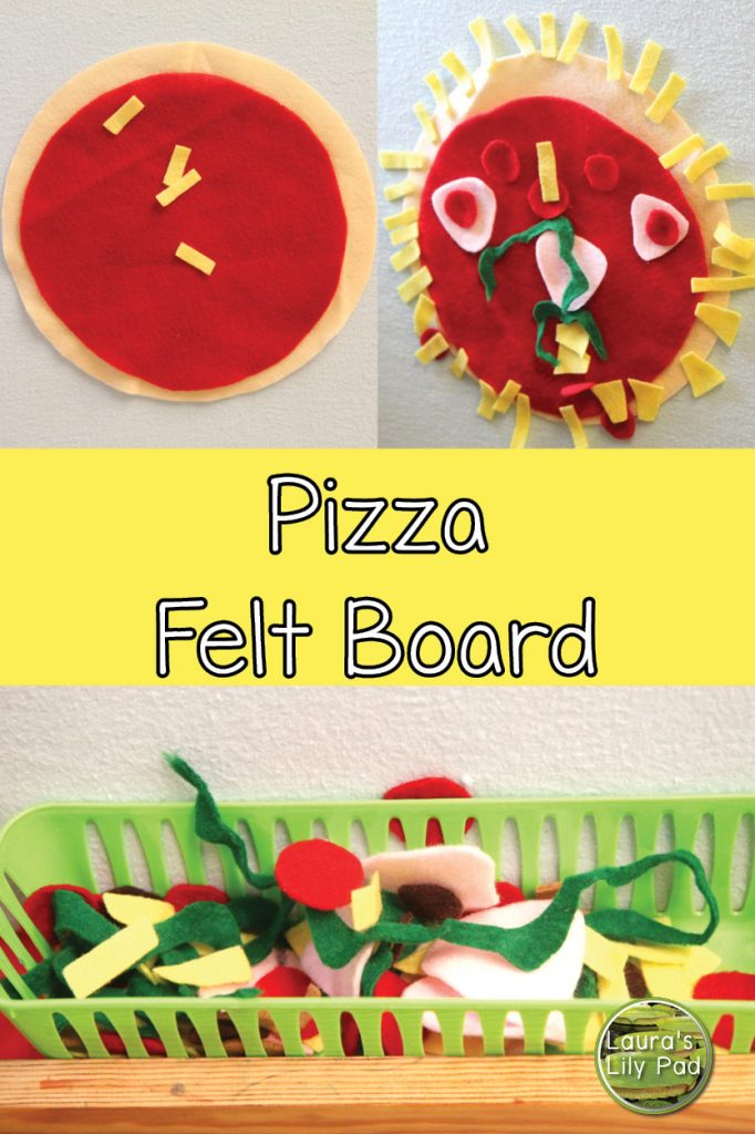 Pizza Felt Board