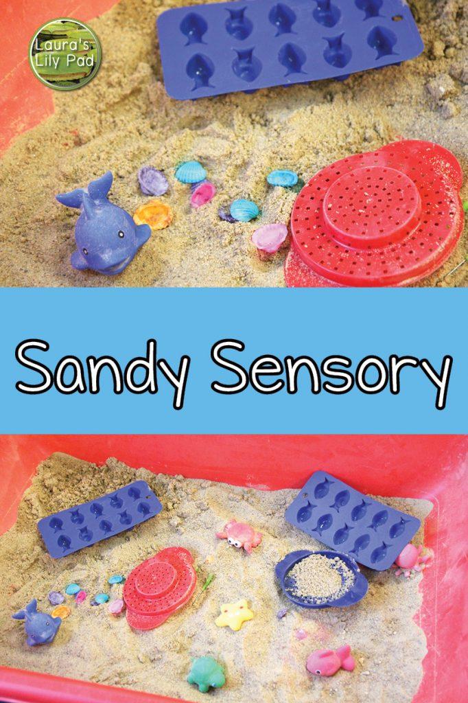 Sandy Sensory Bin