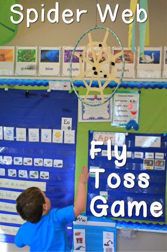 Fly Toss Game