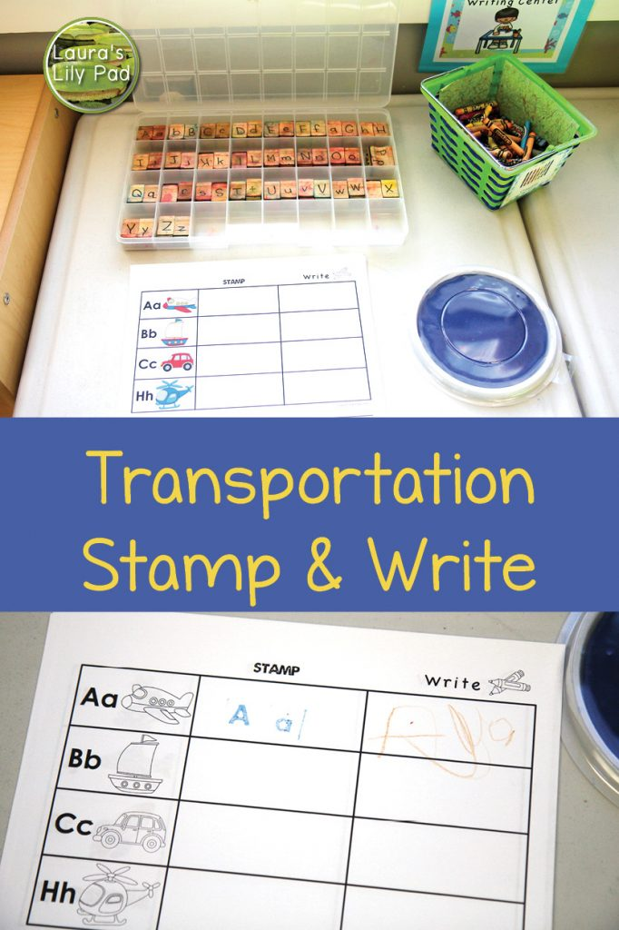 Transportation Stamp and Write
