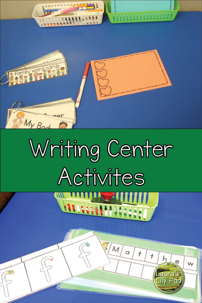 Writing Center Activities