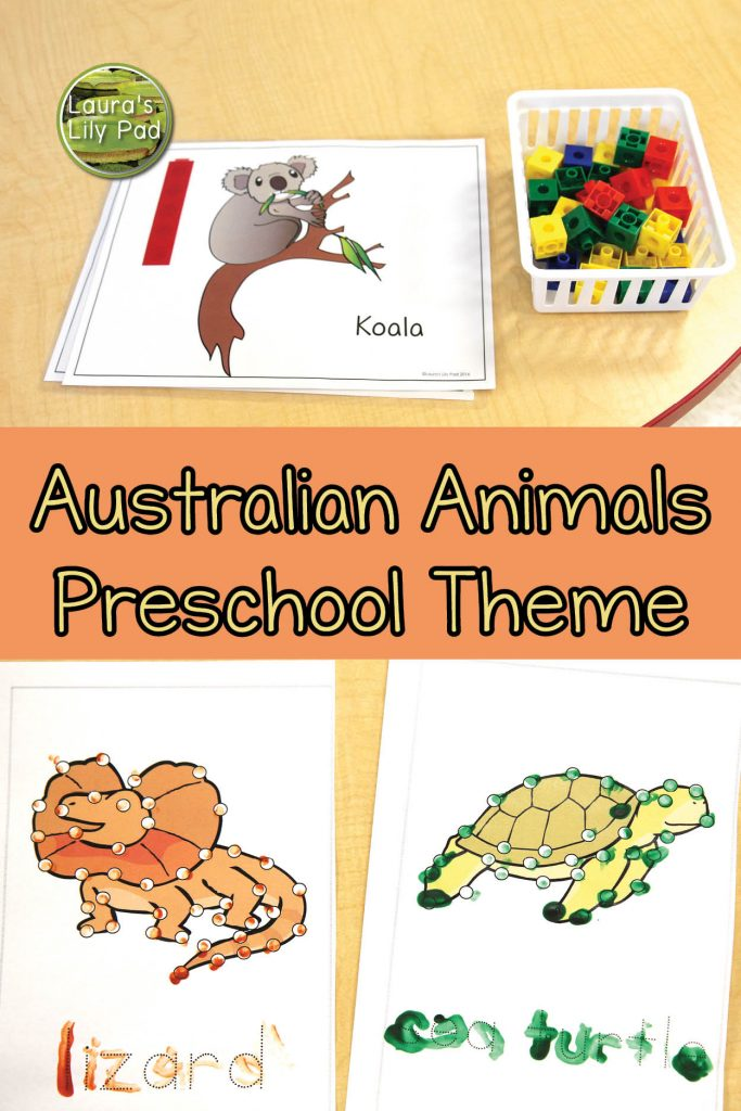 Australian Animal Preschool Theme