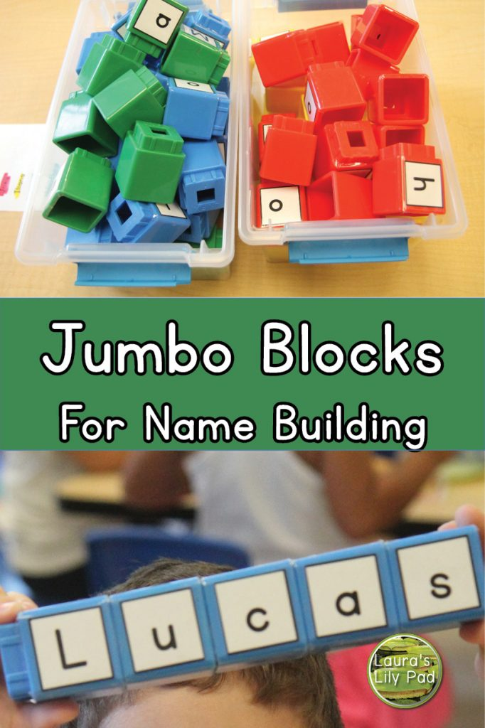 Name Building with Jumbo Blocks
