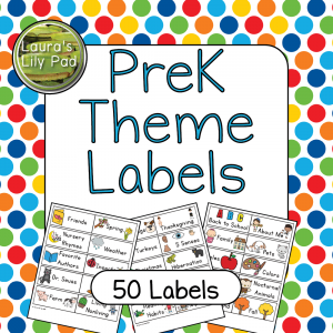 PreK Theme Labels