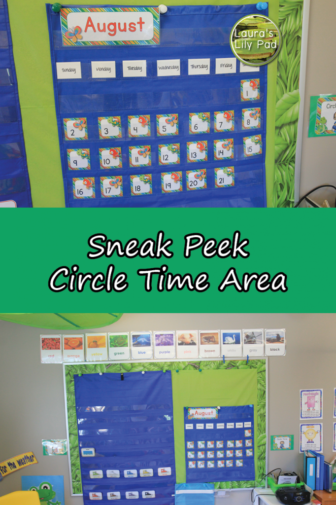 Sneak Peek Circle Time