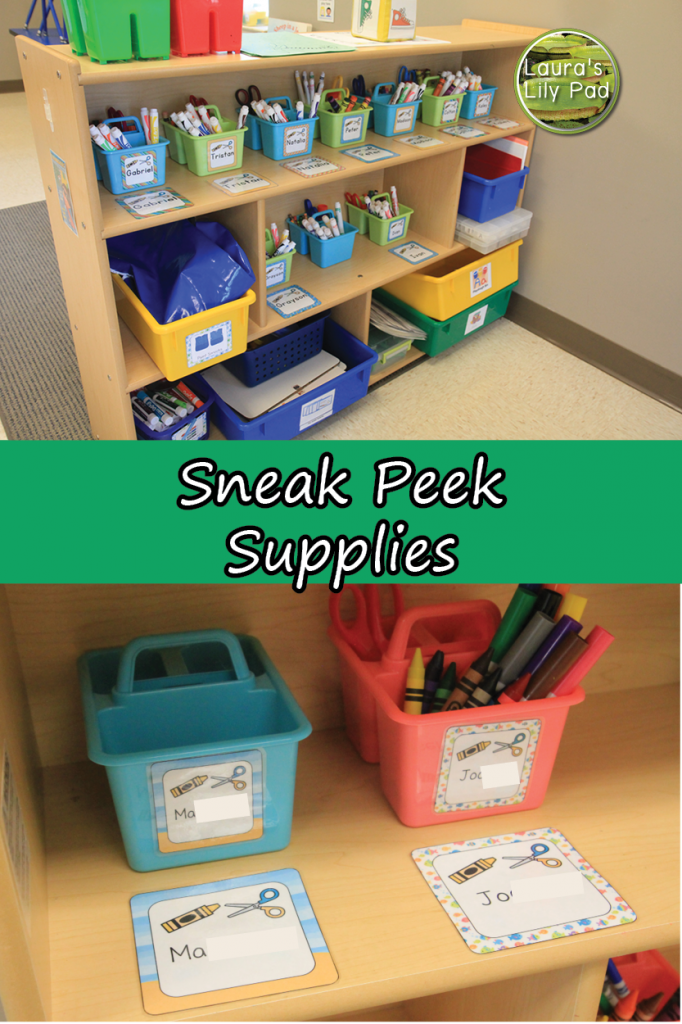 Sneak Peek Supplies