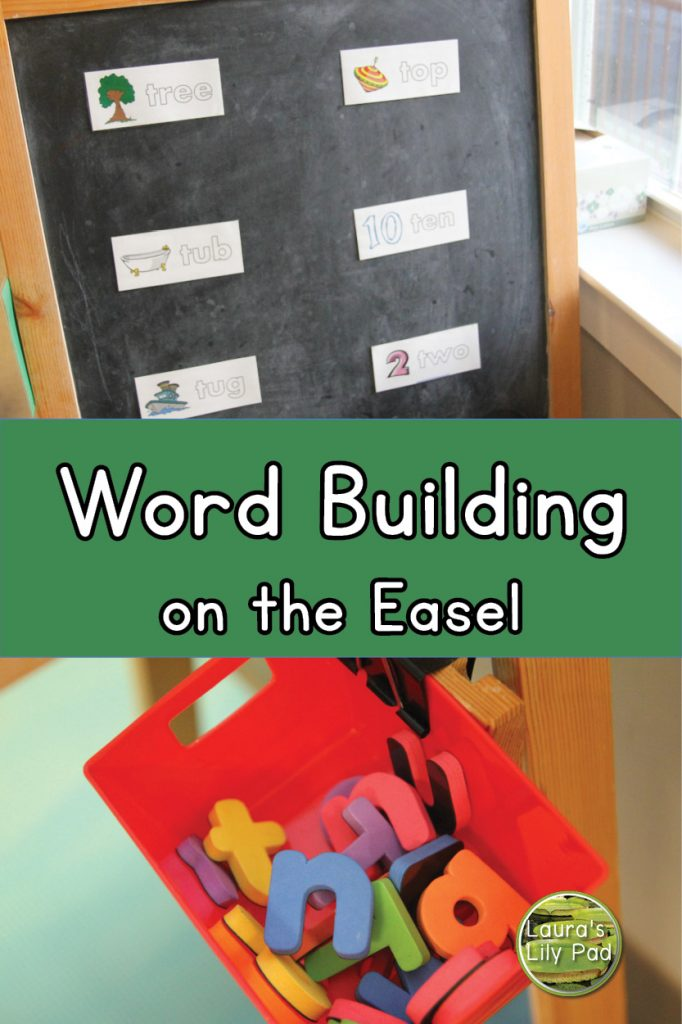 Word Building on Easel