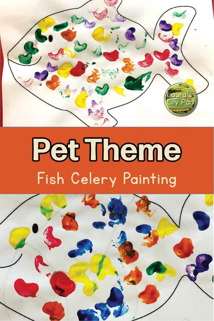 celery fish painting