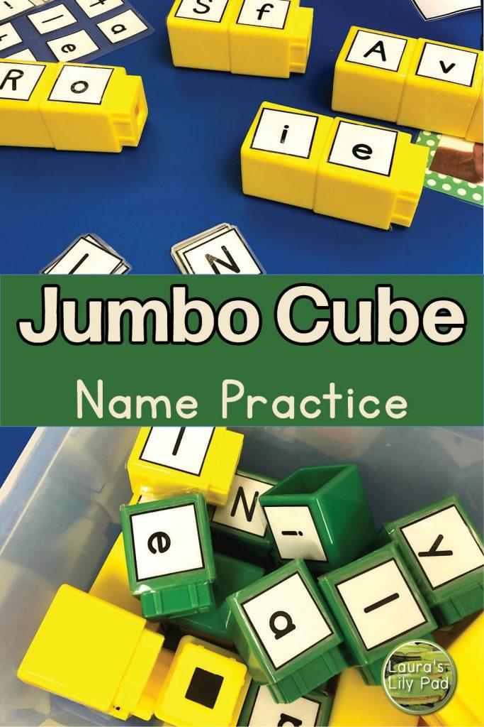 Jumbo Cube Names