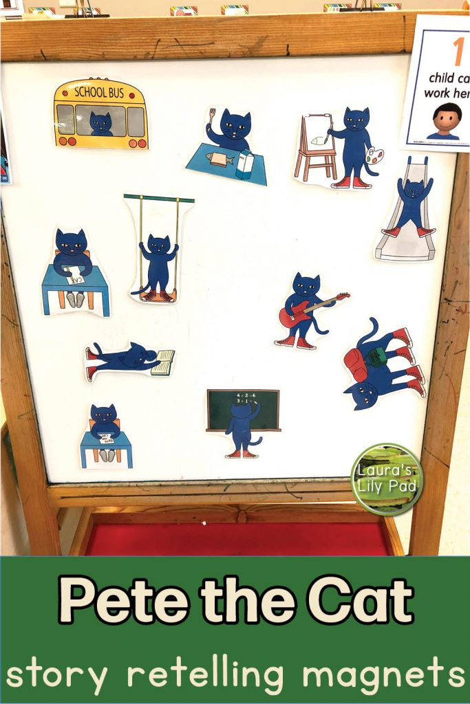 Pete the Cat magnets