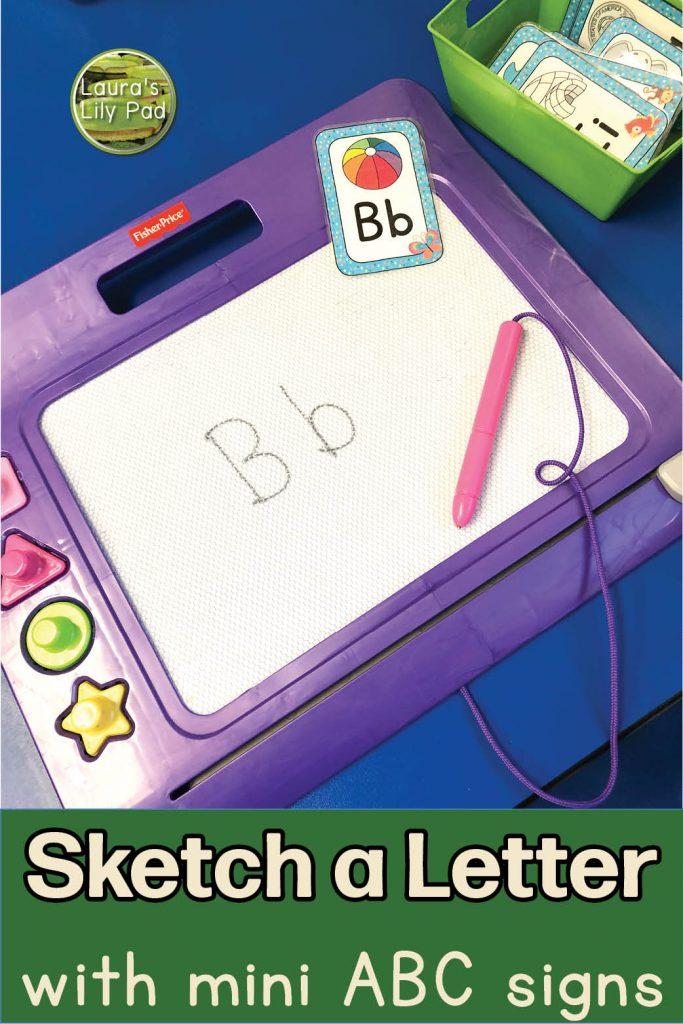 sketch a letter