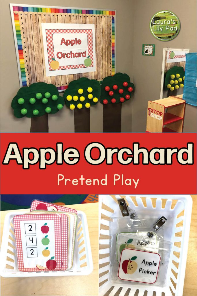 Apple Orchard Pretend Play