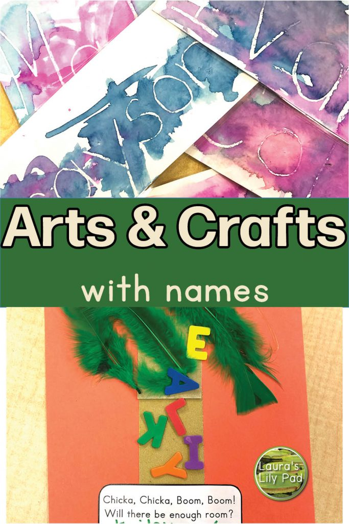 Arts and crafts with names