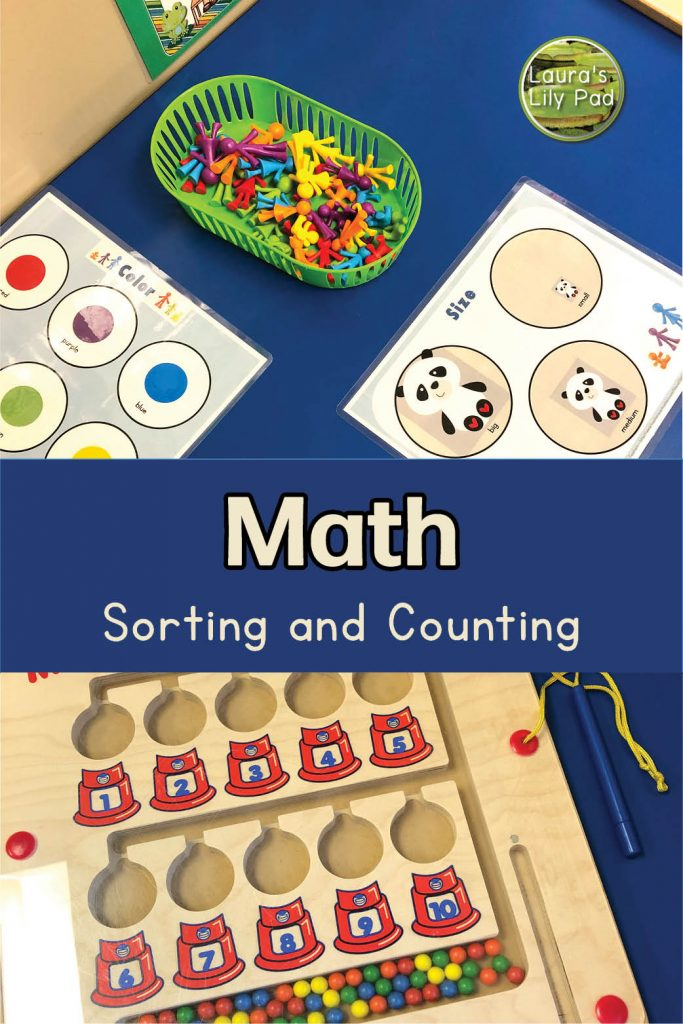 family sorters and magnet math