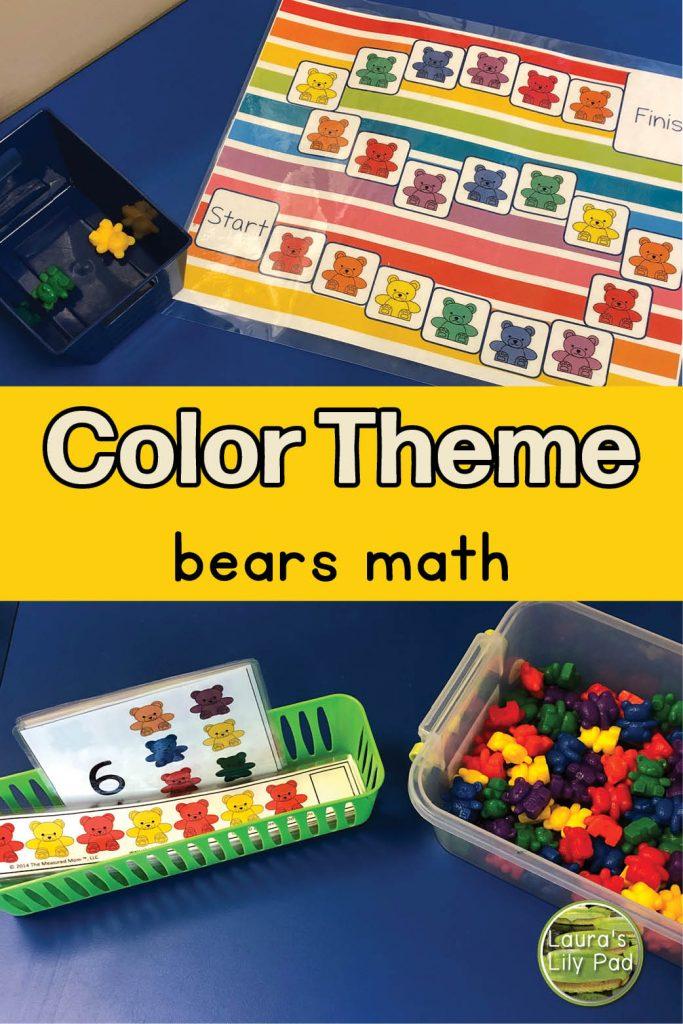 color bears math