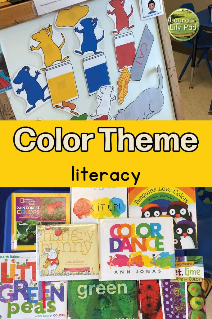 color theme books and activities