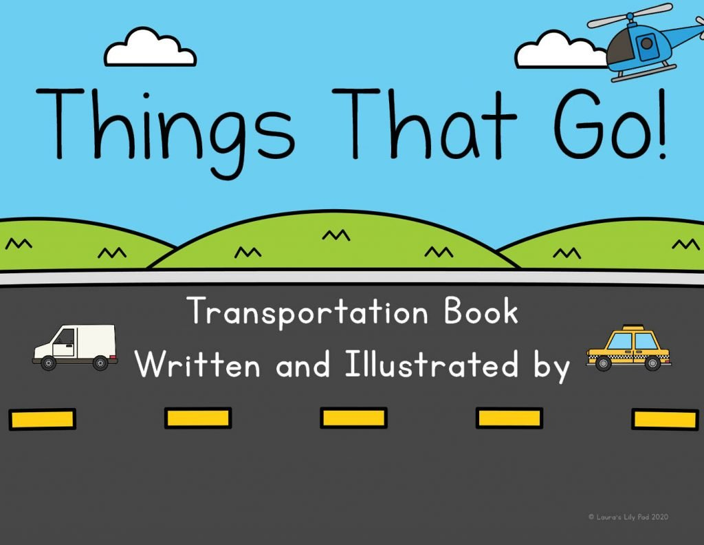 Transportation Theme Class Book Cover