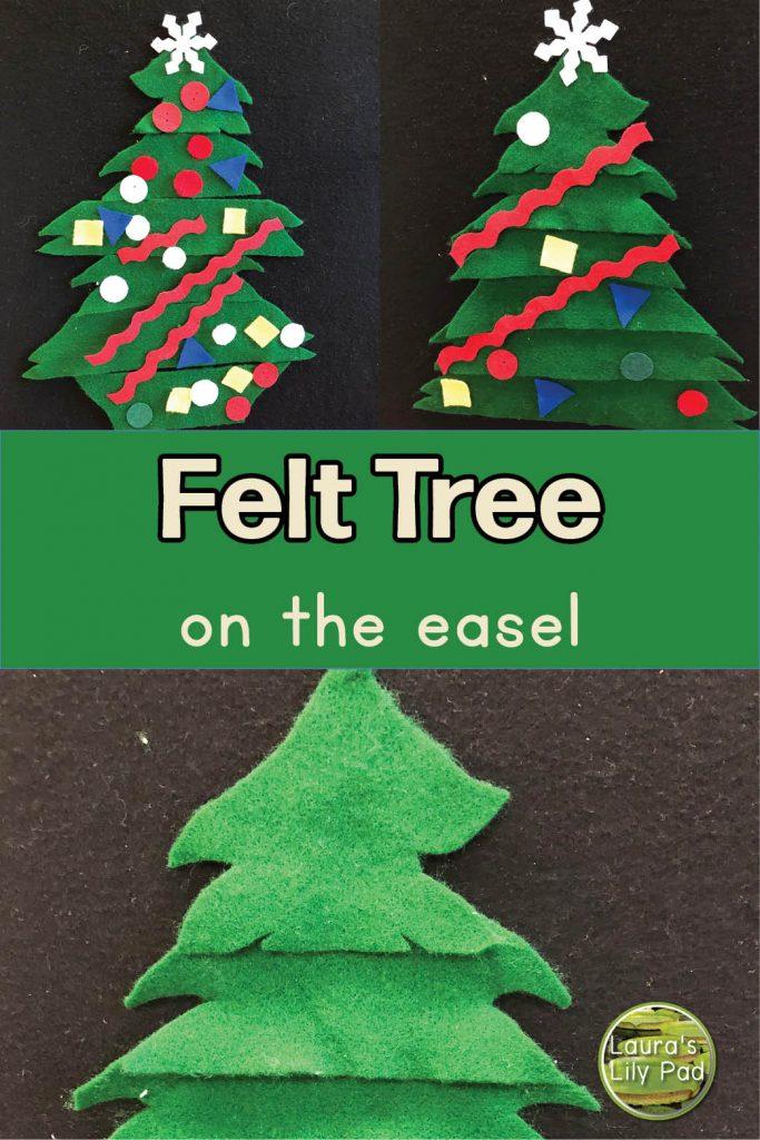 PreK Christmas Felt Tree